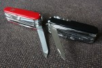 Victorinox SwissChamps - older and newer (stainless steel) metal files