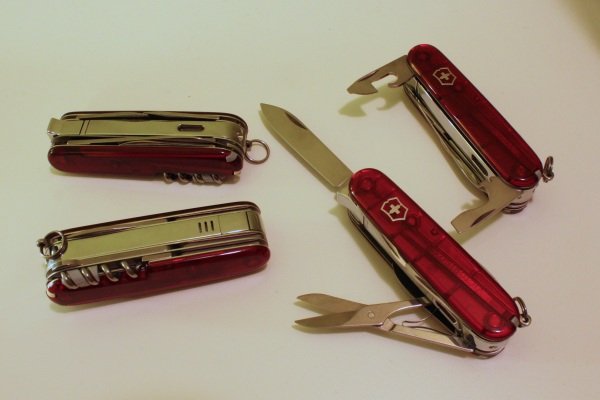 Couple Of Victorinox Saks For Sale And One Wenger