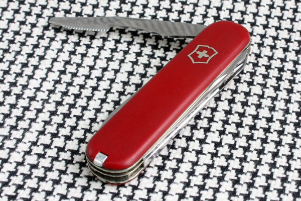 Victorinox Executive Orange Peeler With Fine Teeth