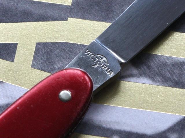 Victorinox 75mm Alox Pen Knife Victoria Tang Stamp