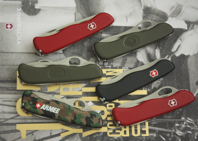 Victorinox 111mm Swiss Army knives