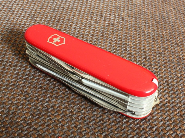 1980s Victorinox Champion Top View Vicfan Com