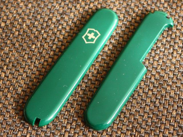 Victorinox Hunter Green Plus Scales Vicfan Com